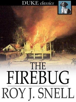 cover image of The Firebug