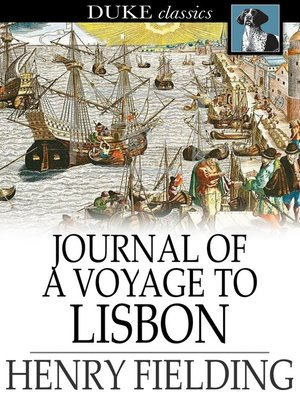 cover image of Journal of a Voyage to Lisbon