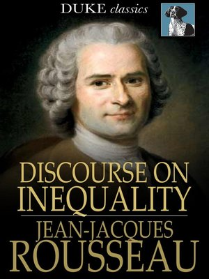 cover image of Discourse on Inequality