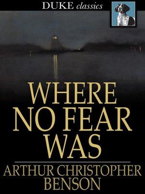 cover image of Where No Fear Was