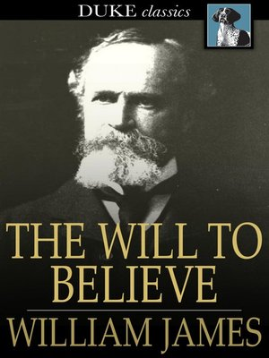 cover image of The Will to Believe