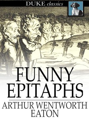 cover image of Funny Epitaphs