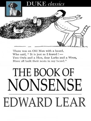 cover image of The Book of Nonsense