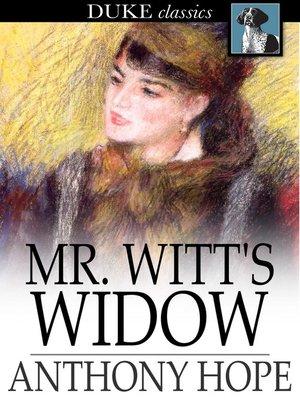 cover image of Mr. Witt's Widow