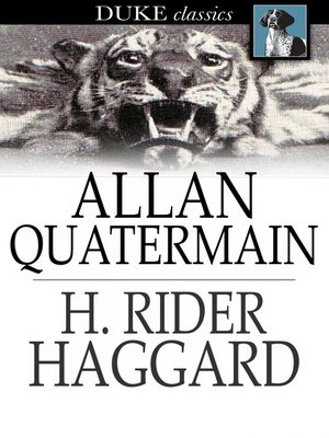 cover image of Allan Quatermain