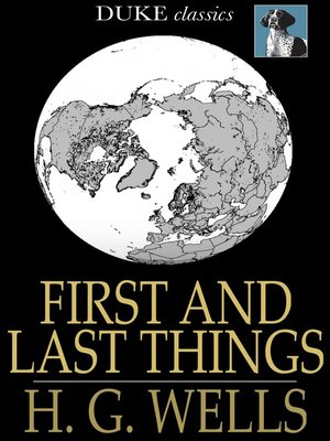 cover image of First and Last Things