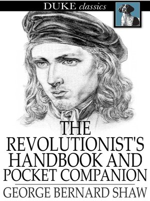 cover image of The Revolutionist's Handbook and Pocket Companion