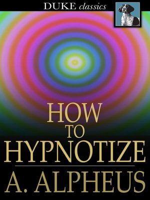 cover image of How to Hypnotize