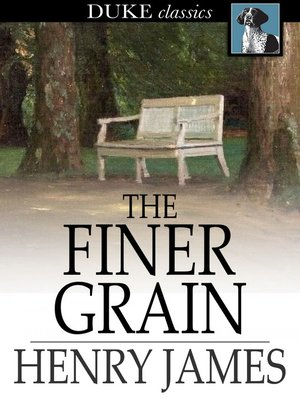 cover image of The Finer Grain