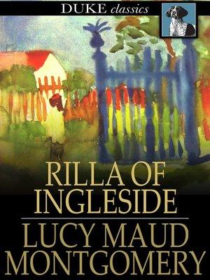 cover image of Rilla of Ingleside