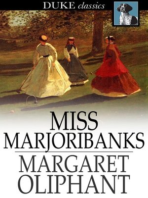 cover image of Miss Marjoribanks
