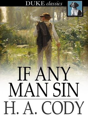cover image of If Any Man Sin