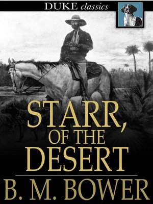 cover image of Starr, of the Desert