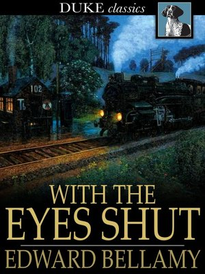 cover image of With the Eyes Shut