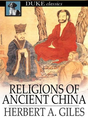 cover image of Religions of Ancient China