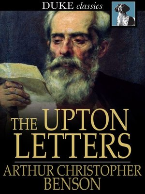 cover image of The Upton Letters