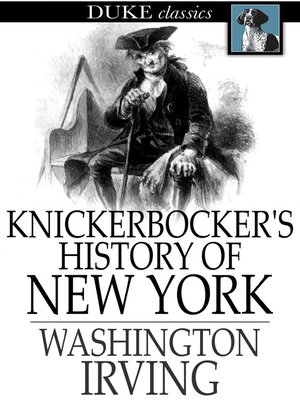 cover image of Knickerbocker's History of New York
