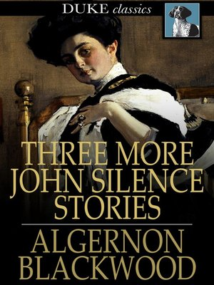 cover image of Three More John Silence Stories