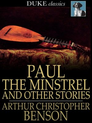 cover image of Paul the Minstrel and Other Stories