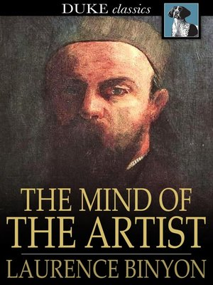 cover image of The Mind of the Artist