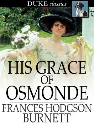 cover image of His Grace of Osmonde