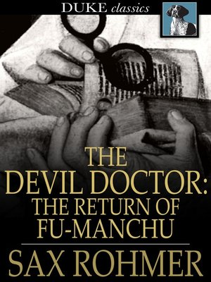 cover image of The Devil Doctor: The Return of Fu-Manchu