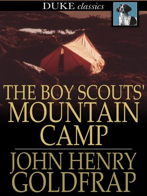 cover image of The Boy Scouts' Mountain Camp