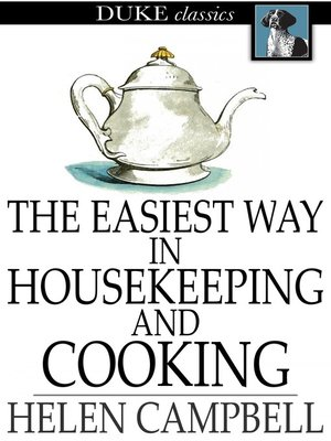 cover image of The Easiest Way in Housekeeping and Cooking