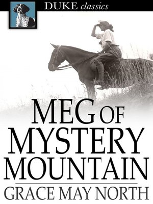 cover image of Meg of Mystery Mountain