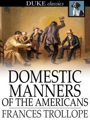 cover image of Domestic Manners of the Americans