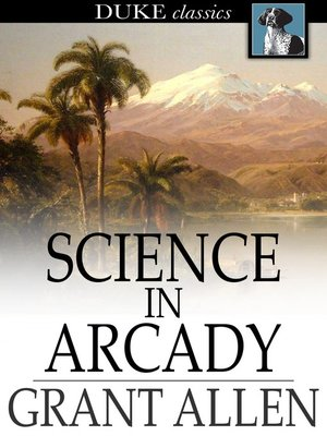 cover image of Science in Arcady
