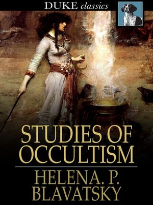 cover image of Studies of Occultism