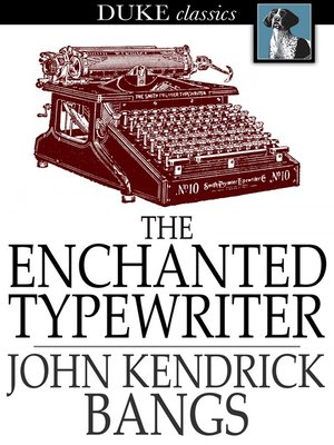 cover image of The Enchanted Typewriter
