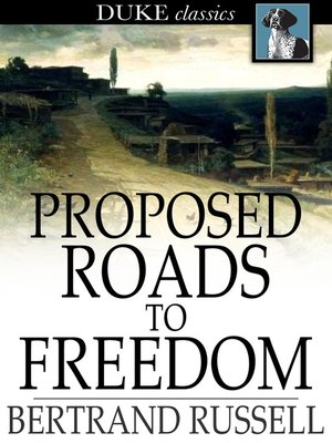 cover image of Proposed Roads to Freedom