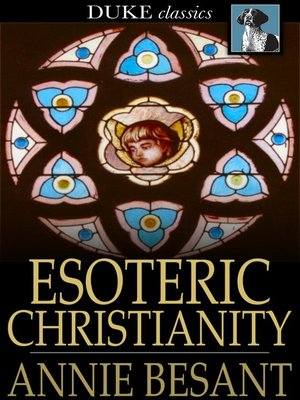 cover image of Esoteric Christianity