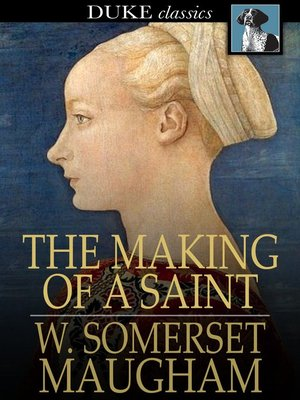 cover image of The Making of a Saint