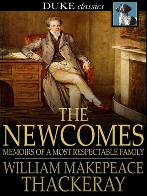 cover image of The Newcomes