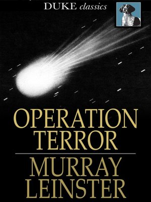 cover image of Operation Terror