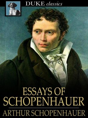 cover image of Essays of Schopenhauer