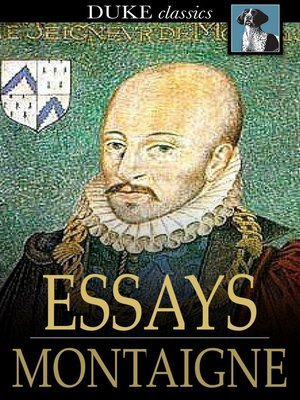 cover image of Essays