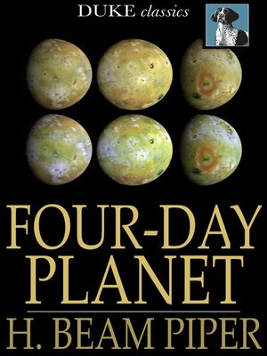 cover image of Four-Day Planet