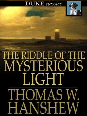 cover image of The Riddle of the Mysterious Light