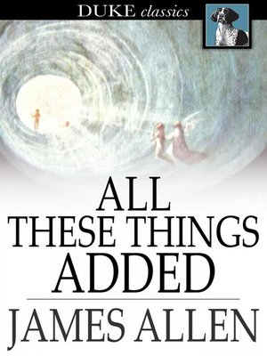 cover image of All These Things Added