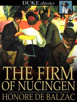 cover image of The Firm of Nucingen