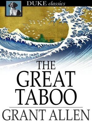 cover image of The Great Taboo