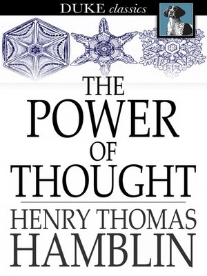 cover image of The Power of Thought