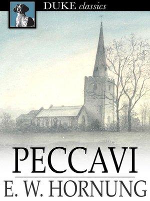 cover image of Peccavi