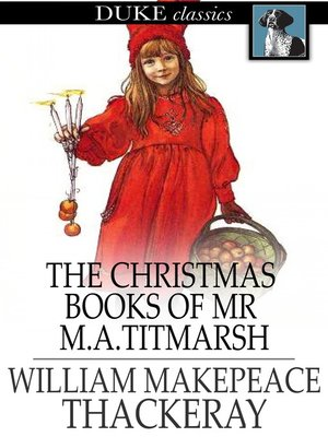 cover image of The Christmas Books of Mr M. A. Titmarsh