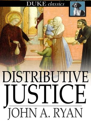 cover image of Distributive Justice