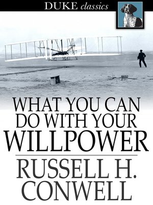 cover image of What You Can Do With Your Will Power